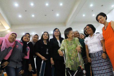 Pelantikan Pengurus Forum Jurnalis Perempuan Indonesia di Aceh