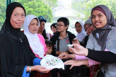 Trauma Healing untuk Pengungsi Sinabung