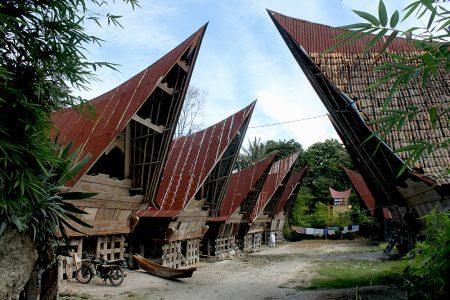 Perkampungan Tradisional di Samosir