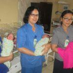 Bayi Kembar 3 Lahir di RS Imelda