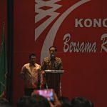 Jokowi di Kongres PKPI