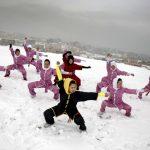 Perempuan Afganistan Belajar Wushu untuk Bela Diri