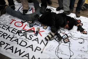 FJPI Kecam Kasus Kekerasan Jurnalis Saat Meliput Aksi 2205