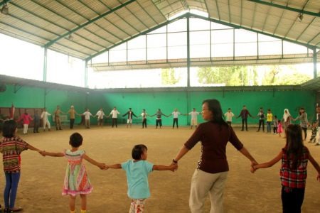 Sehari Ceria Bersama Anak-Anak