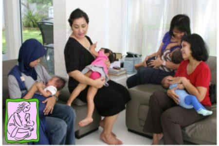 Menyusui Serentak di 15 Provinsi 26 Kota se-Indonesia