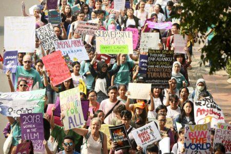 Women's March : Aksi Suara Perempuan