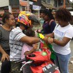 Aksi Jurnalis Papua Peringati Hari Perempuan Internasional